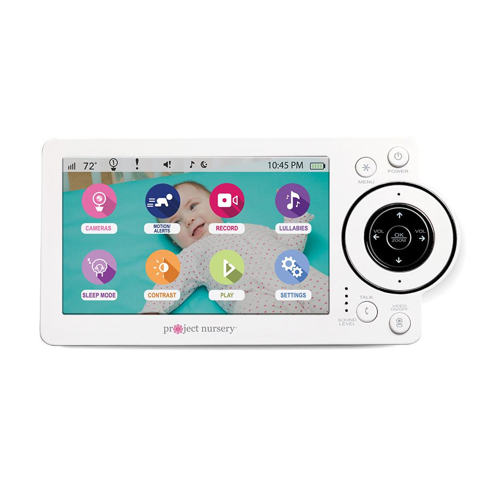"Project Nursery 5"" High Definition Baby Monitor System with 1.5"" Mini Monitor  - The Project Nursery Shop - 2"