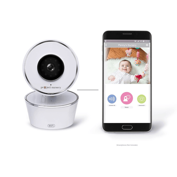 Project Nursery Smart Nursery Wi-Fi 720p Video Baby Monitor