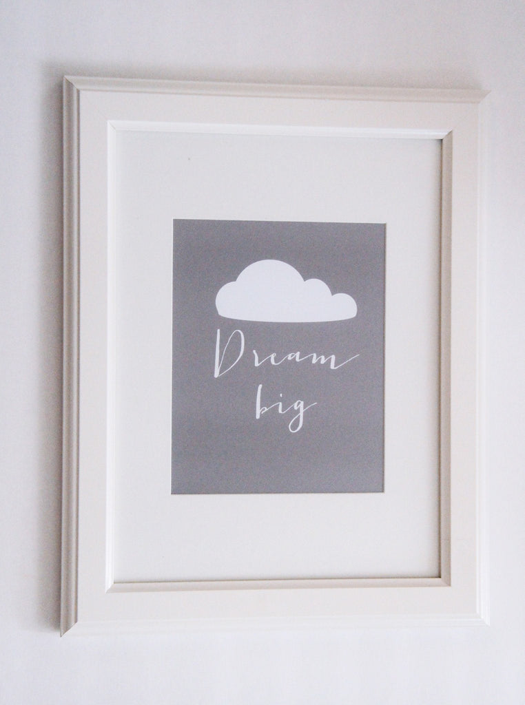 Dream Big Print  - The Project Nursery Shop - 4