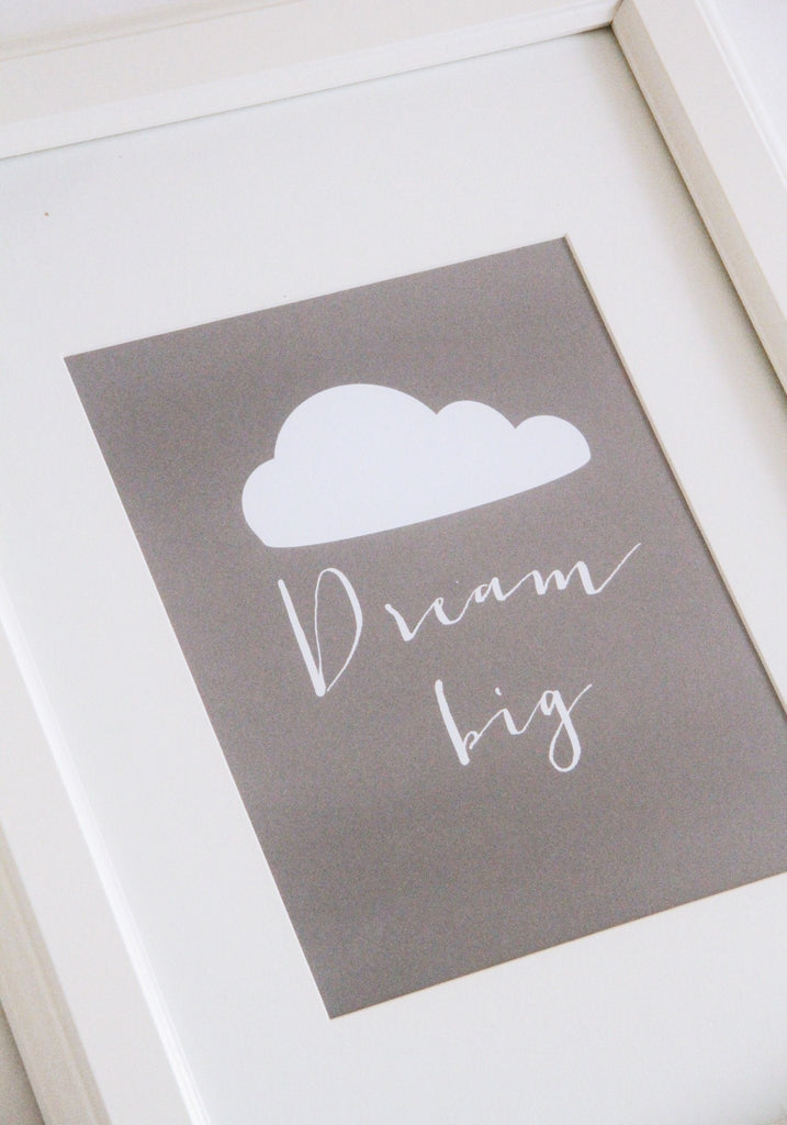 Dream Big Print  - The Project Nursery Shop - 3