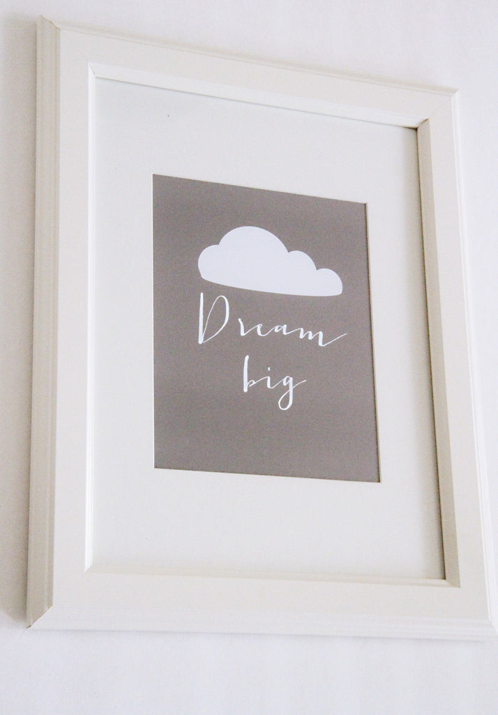 Dream Big Print  - The Project Nursery Shop - 2