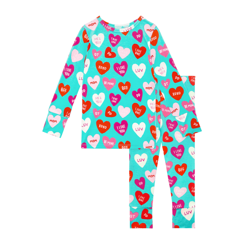 Valerie Long Sleeve Henley Toddler Loungewear Set - Project Nursery