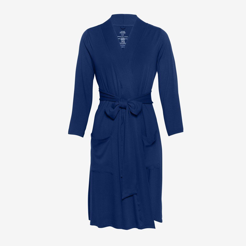 Sailor Blue Solid Robe - Project Nursery
