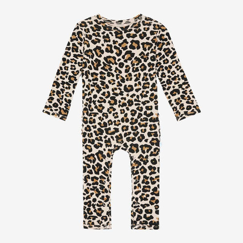 Lana Leopard Ruffled Romper - Project Nursery