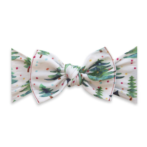 Gumdrop Pine Printed Knot Headband - Project Nursery