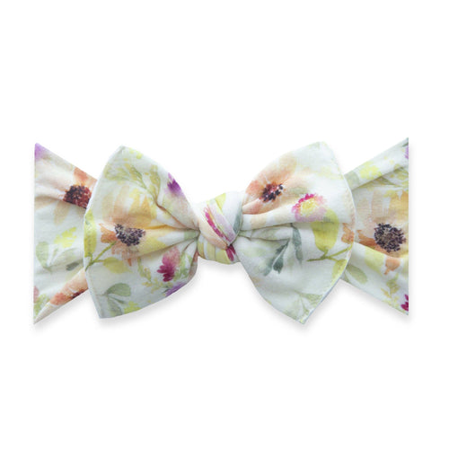 June Bloom Printed Knot Headband - Project Nursery