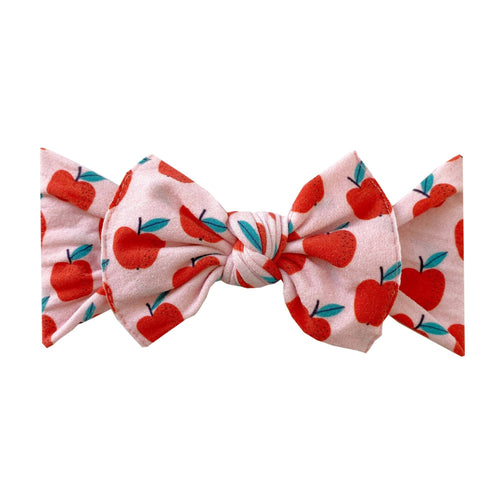 Teachers Pet Printed Knot Headband - Project Nursery