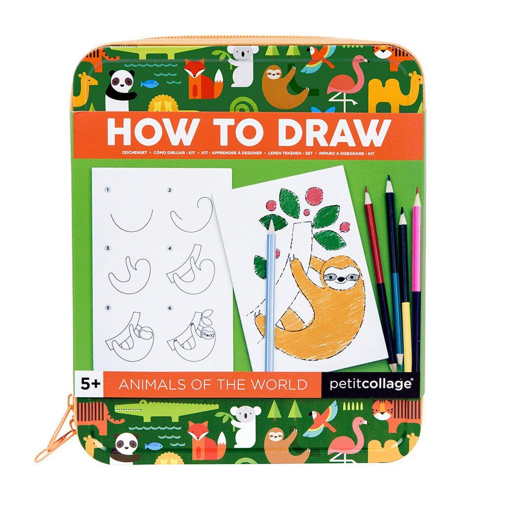 How To Draw Kit - Animals of The World - Project Nursery