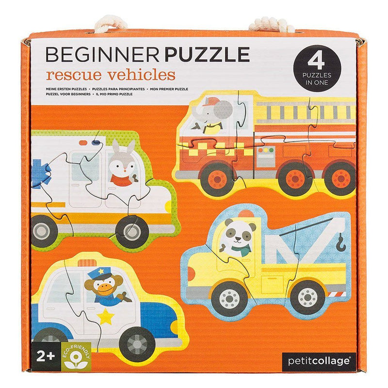 Rescue Vehicles Beginner Puzzle Set - Project Nursery