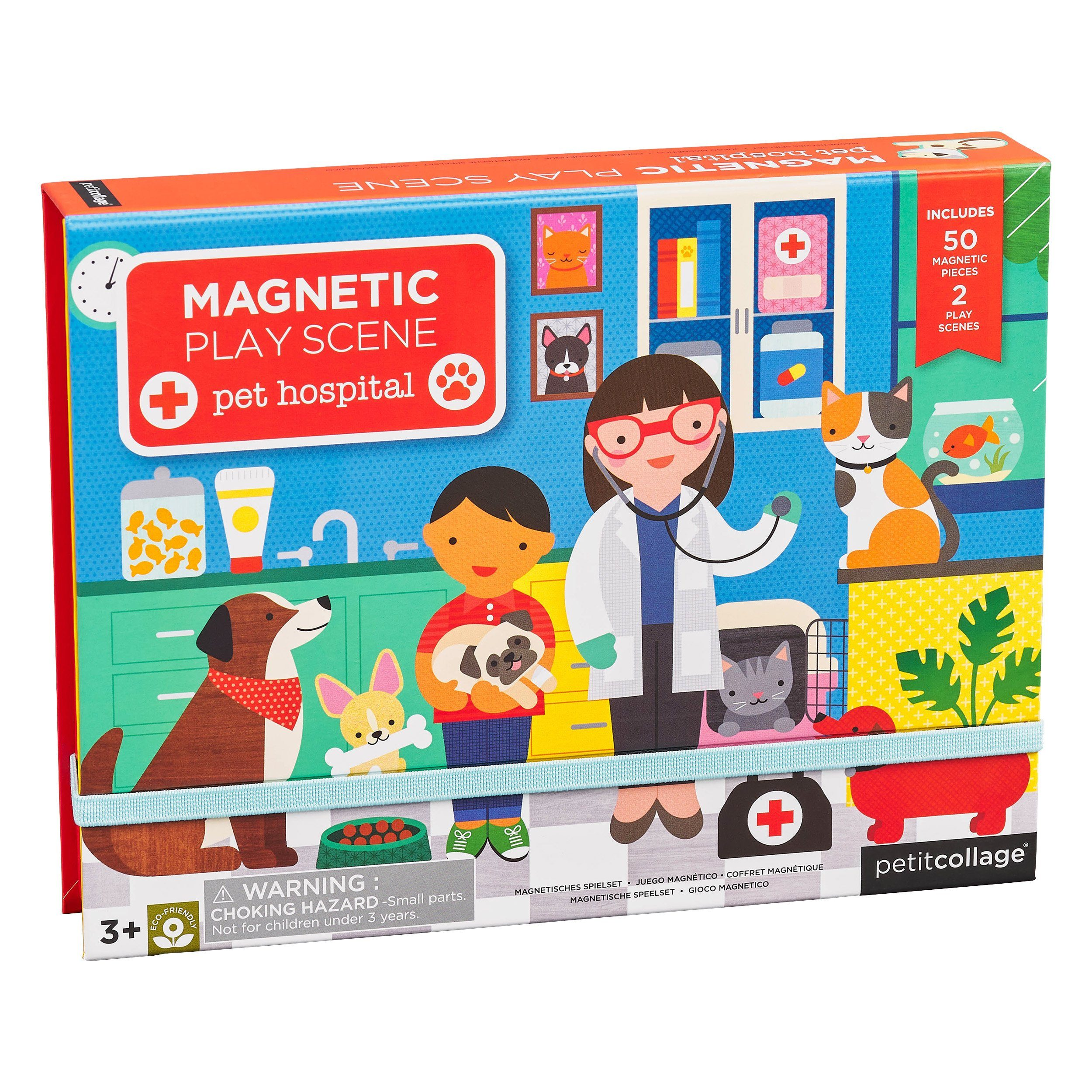 Veterinarian Magnetic Play Scene Set - Project Nursery