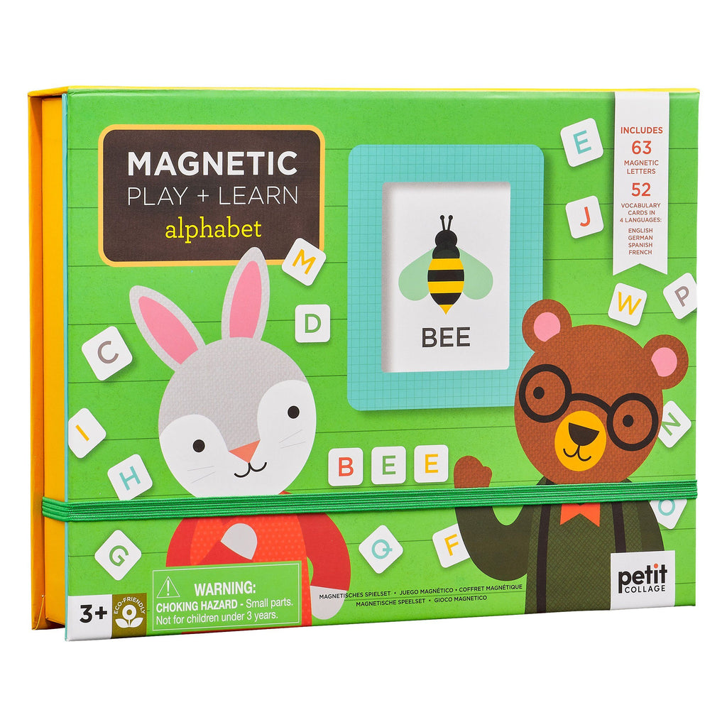 Alphabet Magnetic Play + Learn Set - Project Nursery