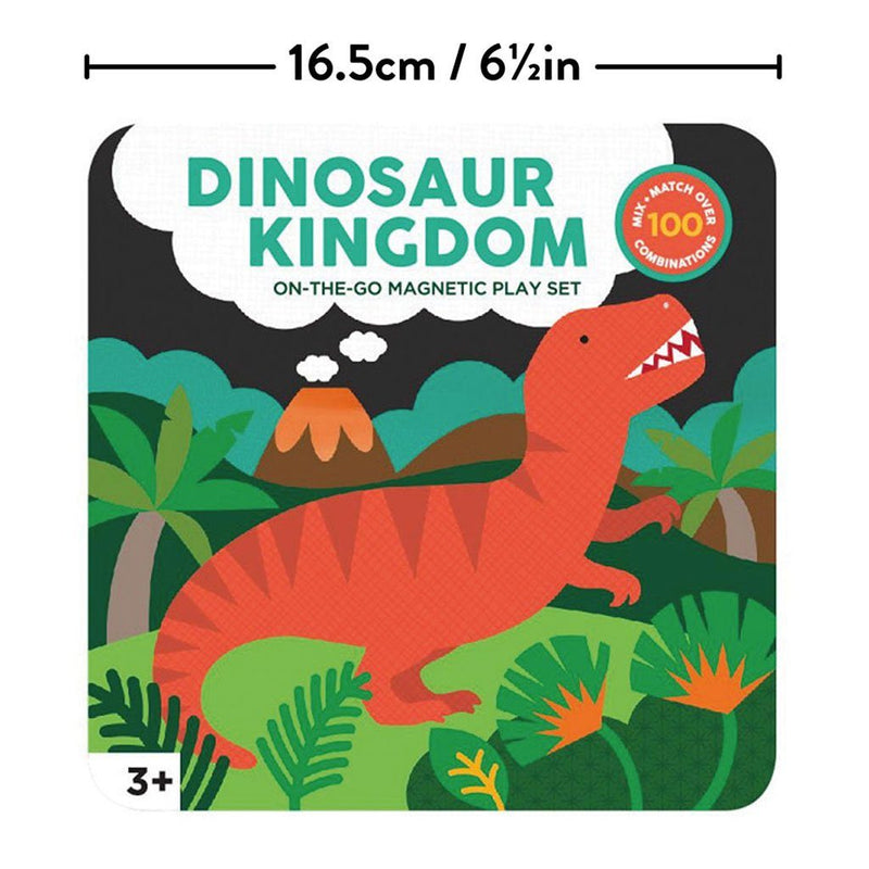 Dinosaur Kingdom On-the-Go Magnetic Play Scene Set - Project Nursery