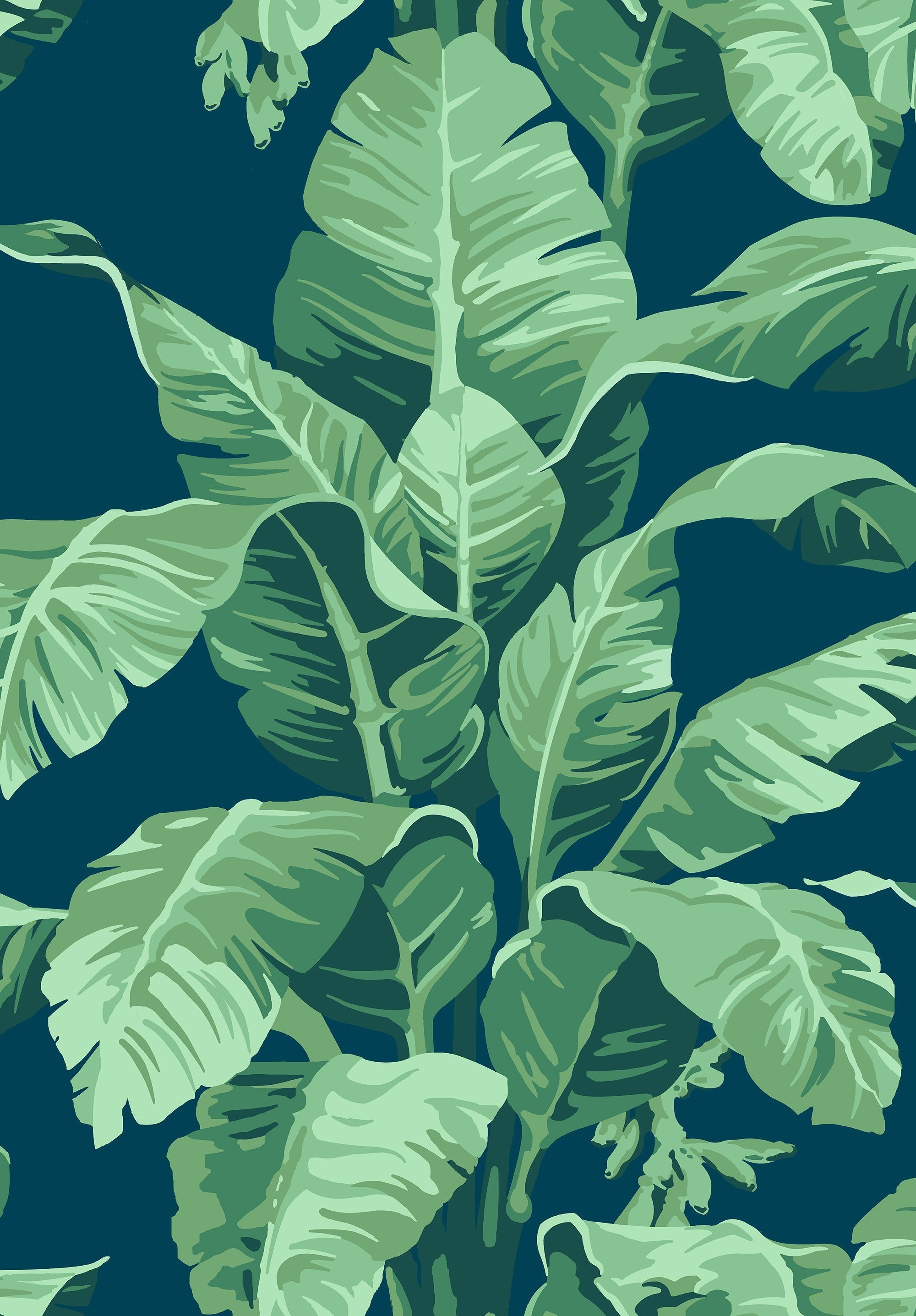 Pacifico Palm Wallpaper - Project Nursery