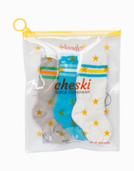 Mixed Classic Athletic Shoe Socks - 3 pack - Project Nursery
