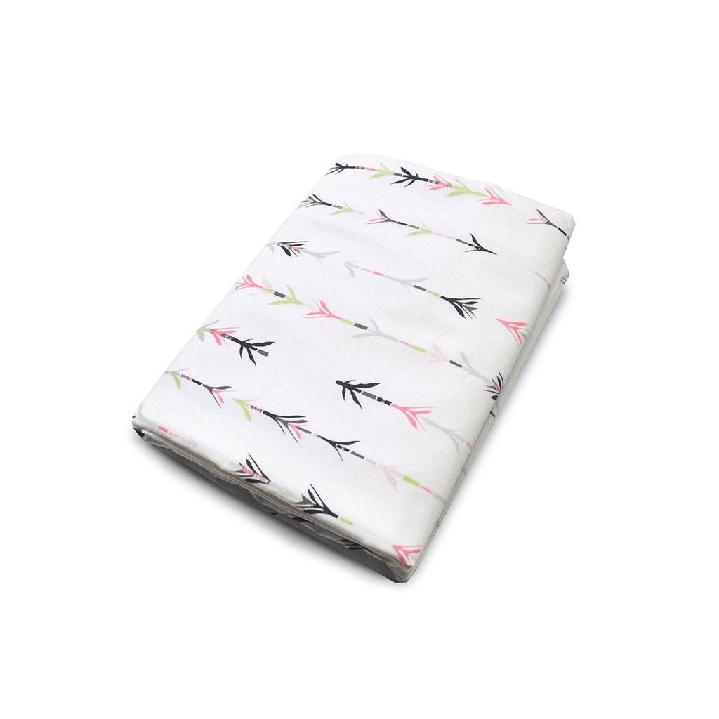 Painted Arrow Crib Sheet
