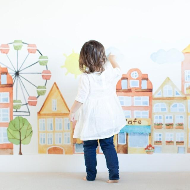Parisienne Market Place Wall Decals - Project Nursery
