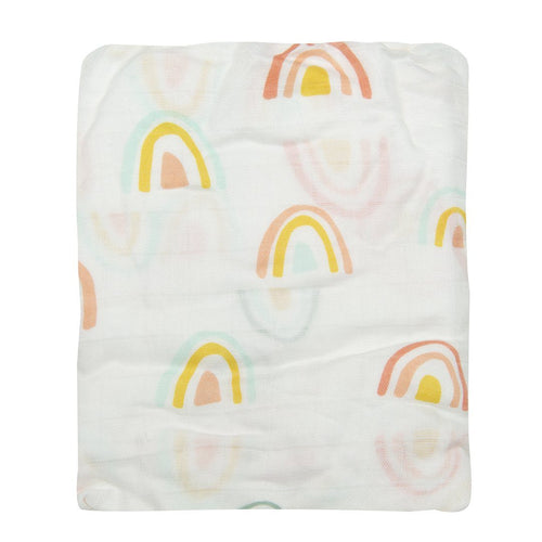 Pastel Rainbow Fitted Crib Sheet - Project Nursery