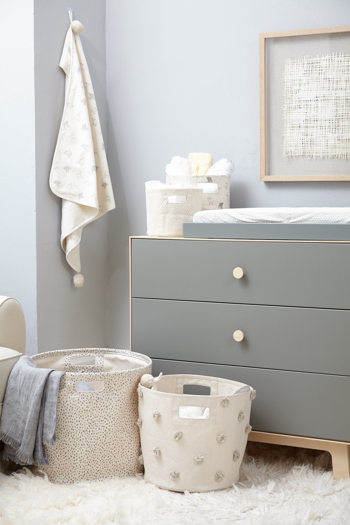 Pom Pom Storage Bin - Project Nursery