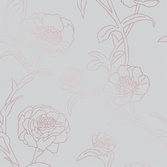 Peonies Wallpaper - Project Nursery