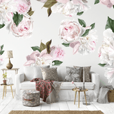 Peony Wall Decals - Decals