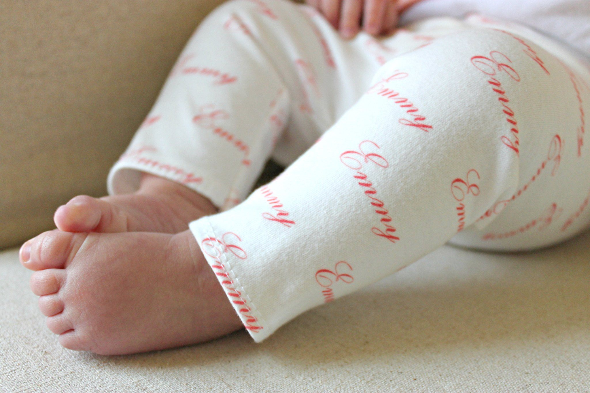 Personalized Name Leggings - Project Nursery