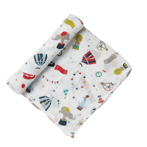 Big Top Circus Swaddle - Project Nursery