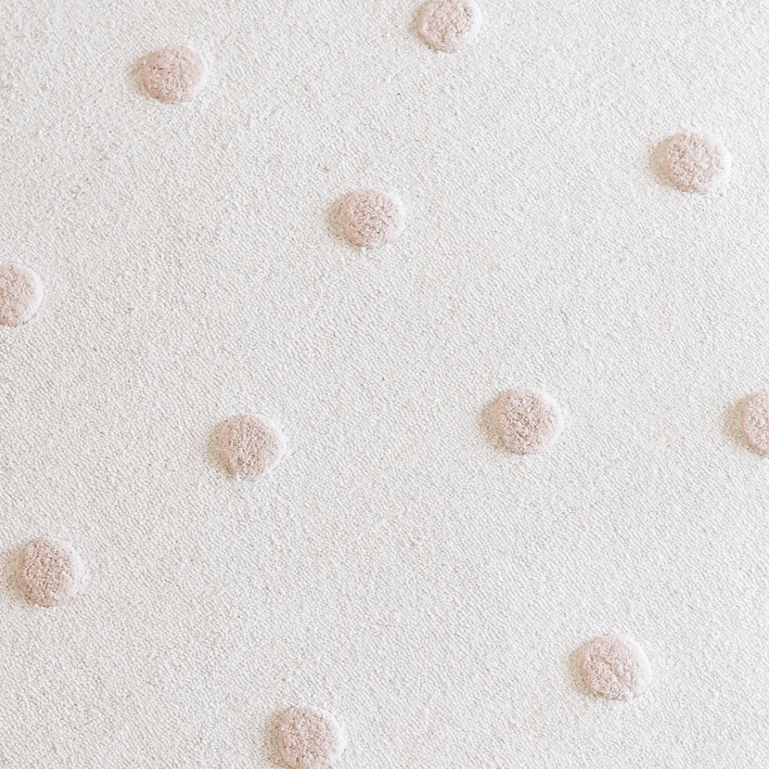 Blush Pom Pom Rug in Multiple Sizes - Project Nursery