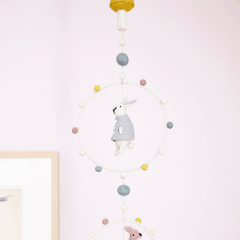 Magical Forest Hoop Mobile - Project Nursery
