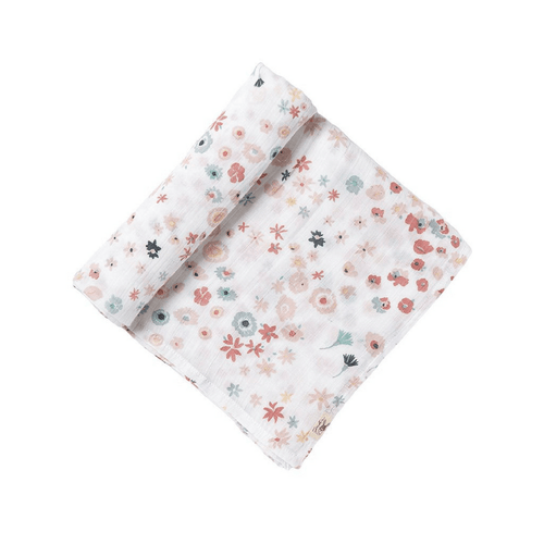 Meadow Swaddle Blanket - Project Nursery