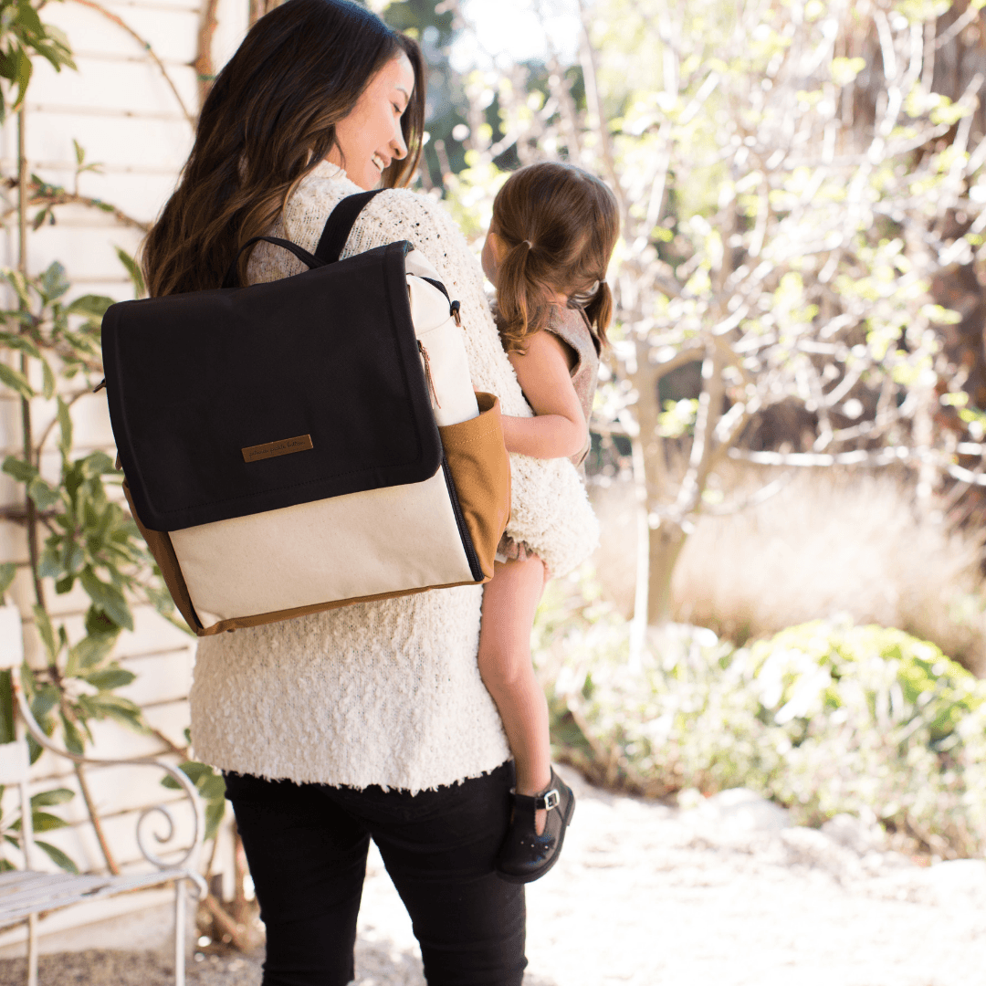Boxy Backpack - Caramel - Project Nursery