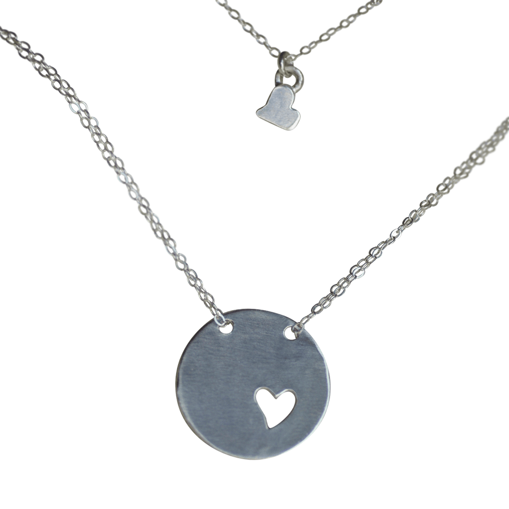Piece of My Heart Necklace  - The Project Nursery Shop - 1