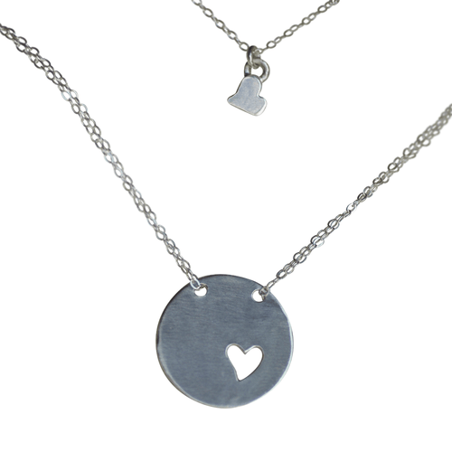 Piece of My Heart Necklace - Project Nursery