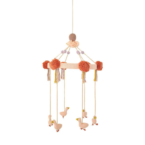 Pink Geese Mobile - Project Nursery