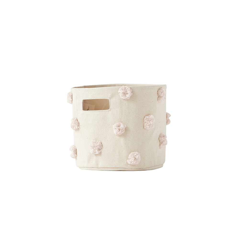 Pom Pom Storage Mini Blush - The Project Nursery Shop - 1