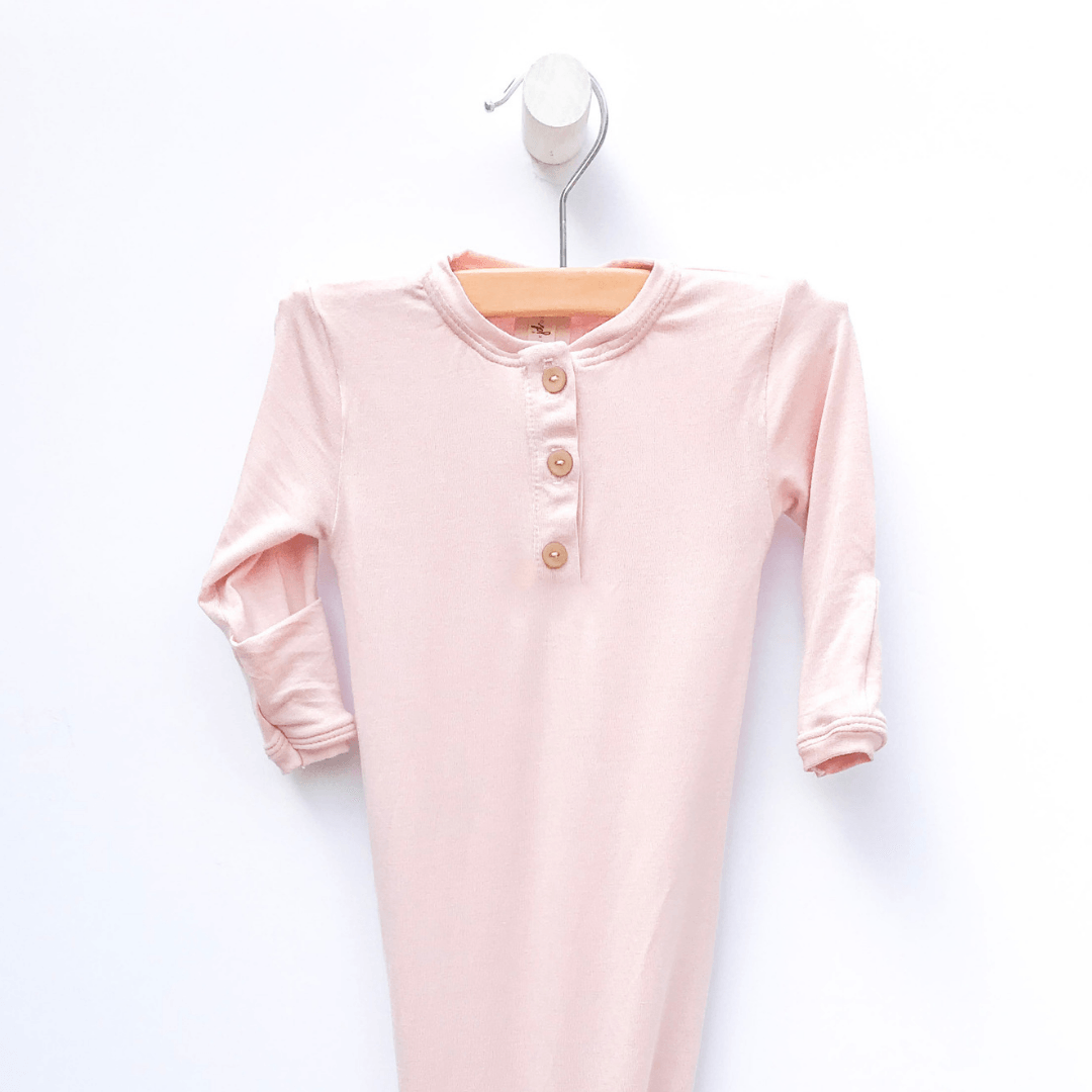 Solid Pink Sleep Gown - Project Nursery