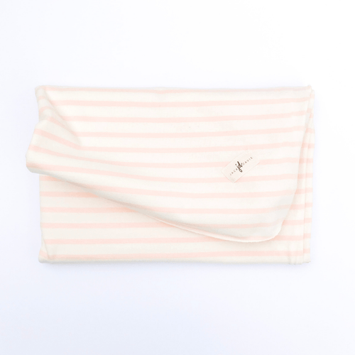 Pink Stripe Swaddle Blanket - Project Nursery