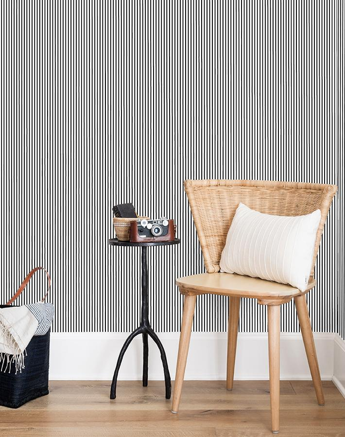 Pinstripe Wallpaper - Project Nursery
