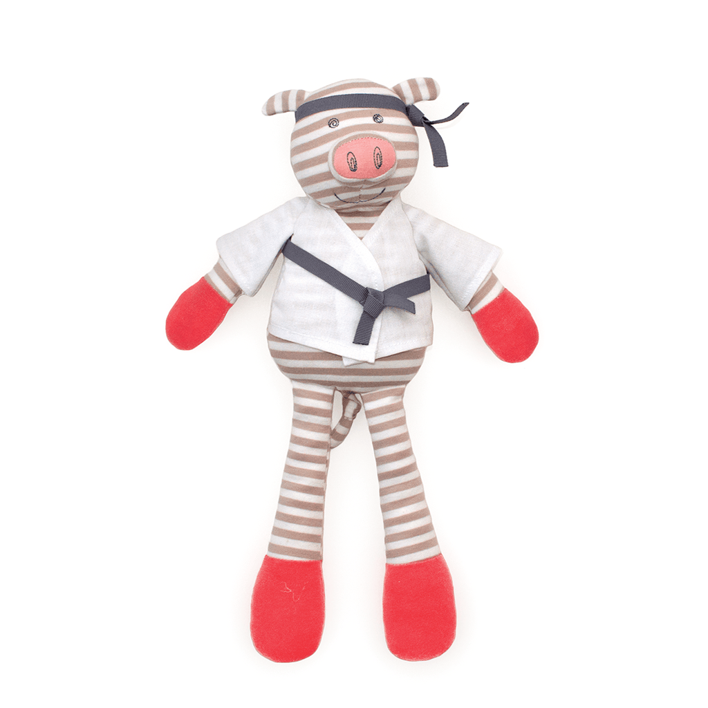 Organic Plush Pork Chop  - The Project Nursery Shop