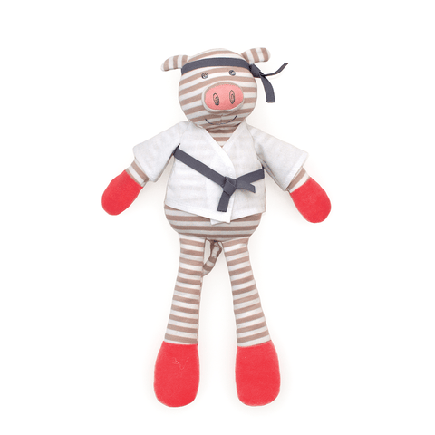 Organic Plush Pirate Pig