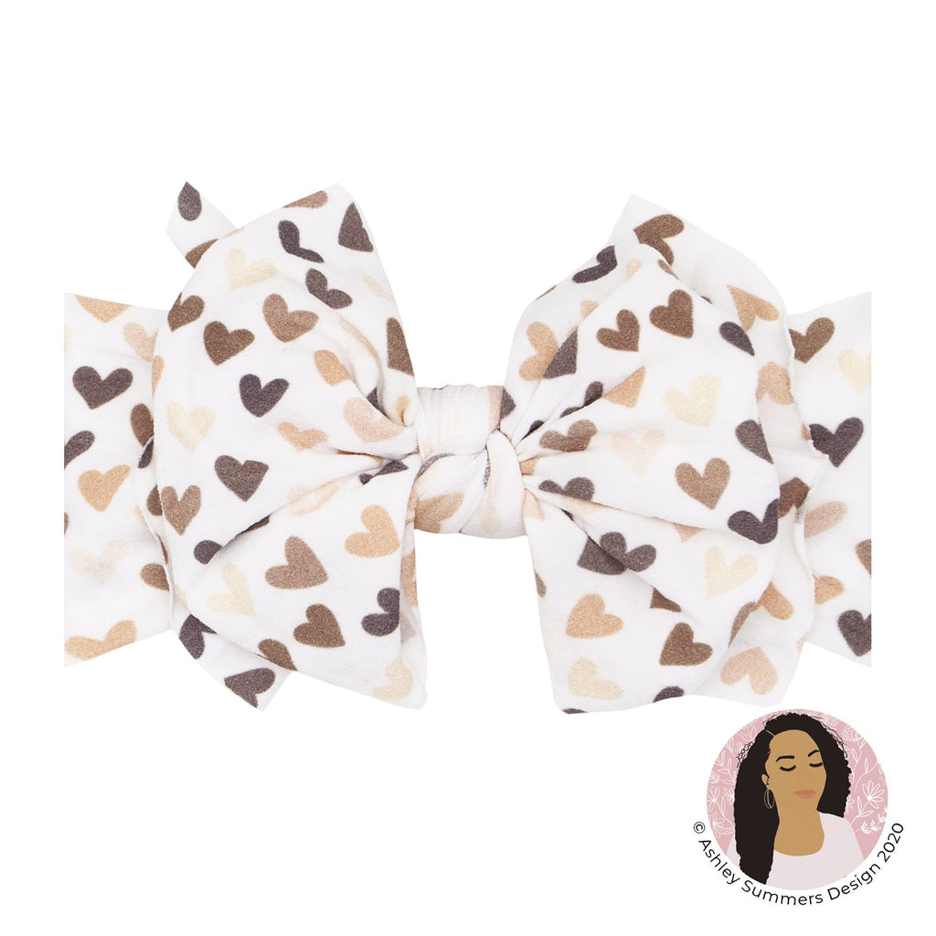 Unity Heart Printed Fab Headband - Project Nursery
