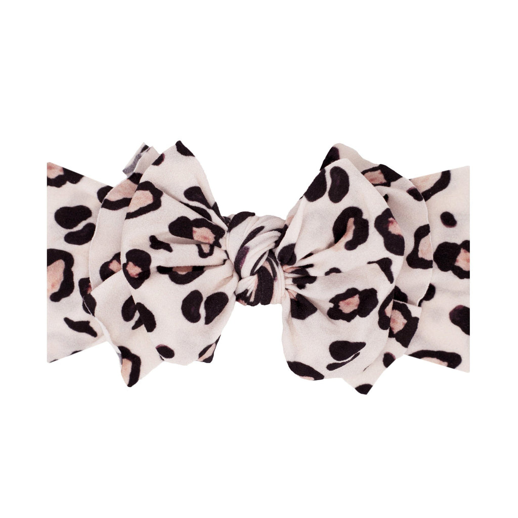 Wildcat Printed Fab-Bow-Lous Knot Headband - Project Nursery
