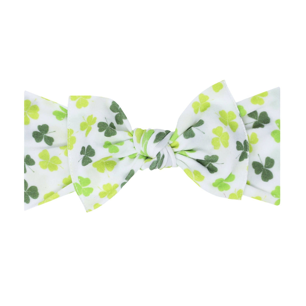 Lucky Charm Printed Knot Headband - Project Nursery