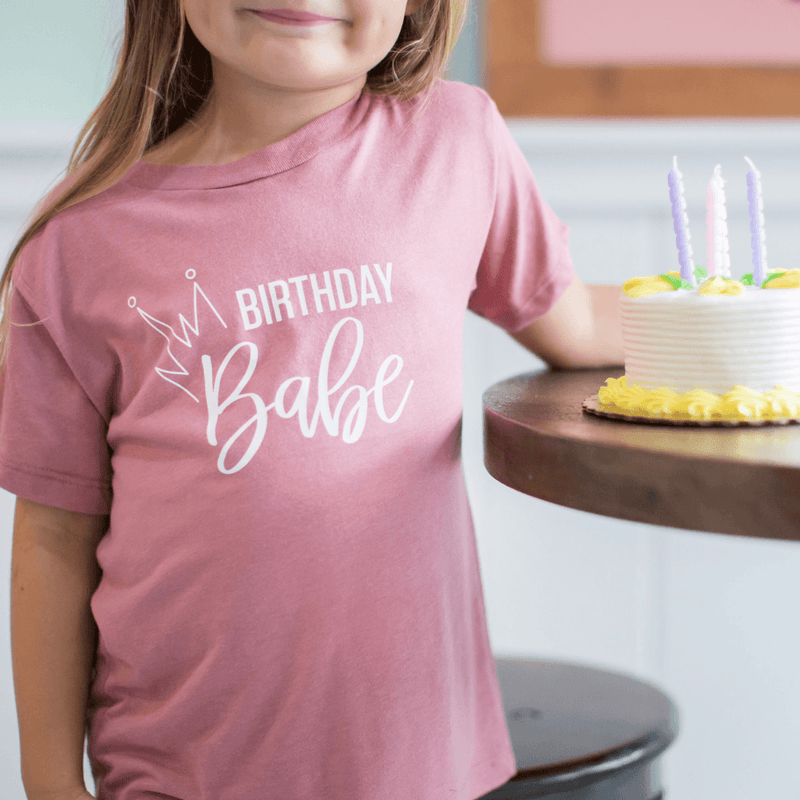 Birthday Babe Toddler Tee - Project Nursery