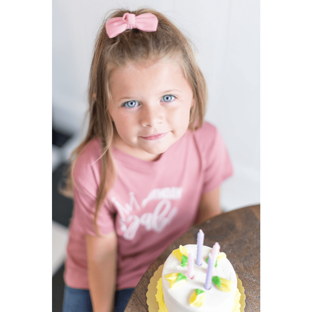 Birthday Babe Kid Tee - Project Nursery
