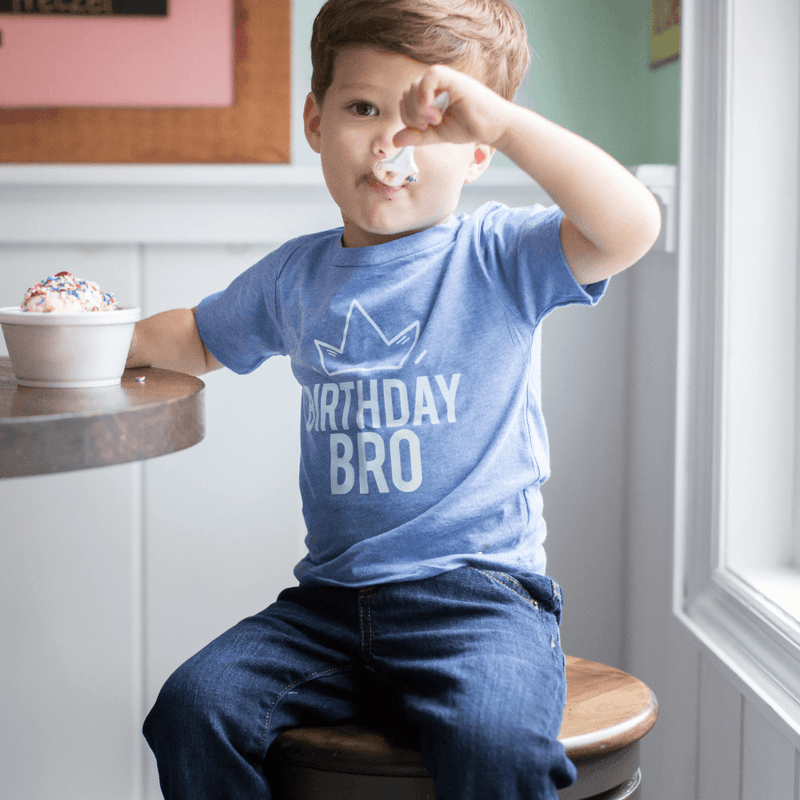 Birthday Bro Toddler Tee - Project Nursery