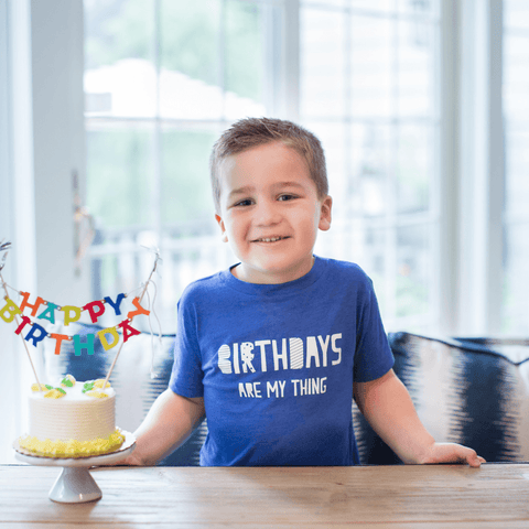 Birthday Bro Kid Tee