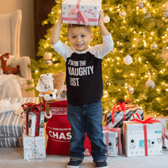 I'm On the Naughty List Toddler Tee - Project Nursery