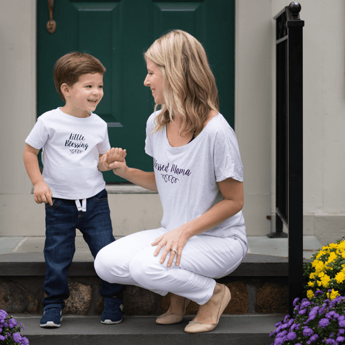 Blessed Mama Tee - Project Nursery