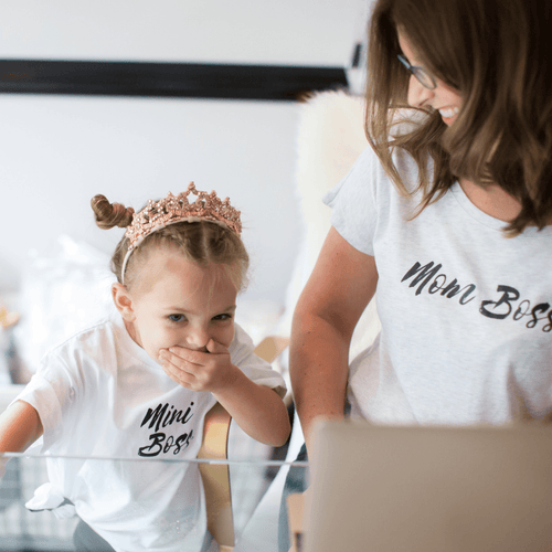 Mini Boss Toddler Tee - Project Nursery
