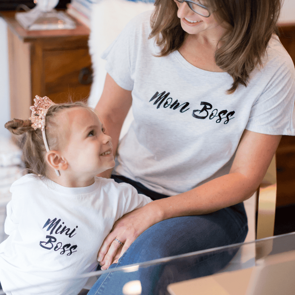 Mom Boss Tee - Project Nursery